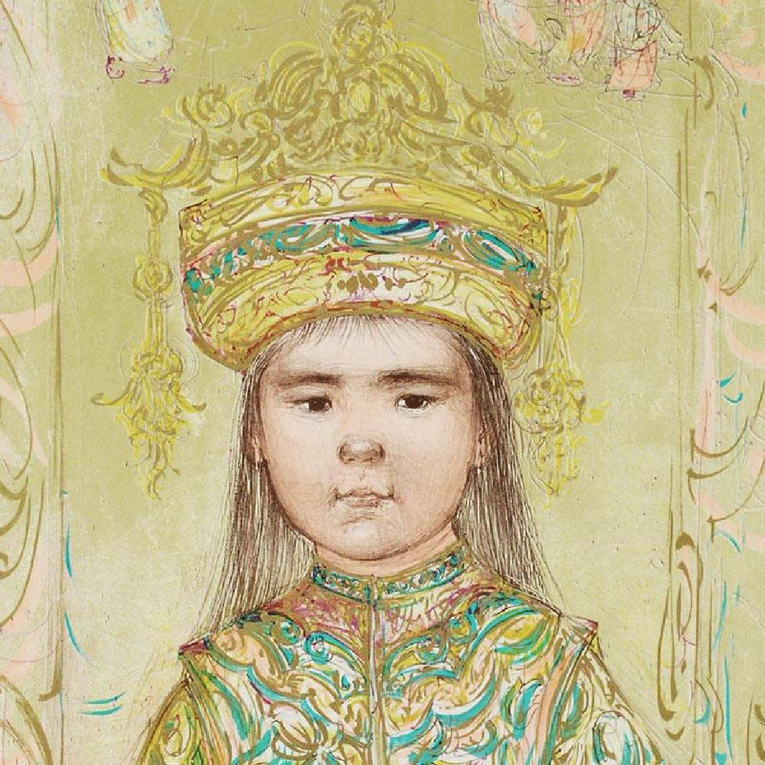 """""""Oriental Daydream"""" Limited Edition Lithograph by Edna - 4"""