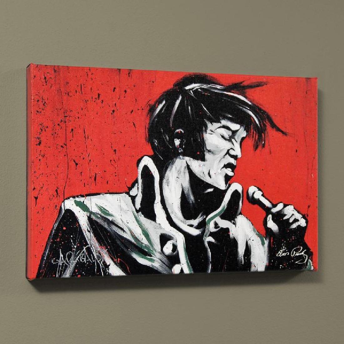 """Elvis Presley (Revolution)"" LIMITED EDITION Giclee on - 4"