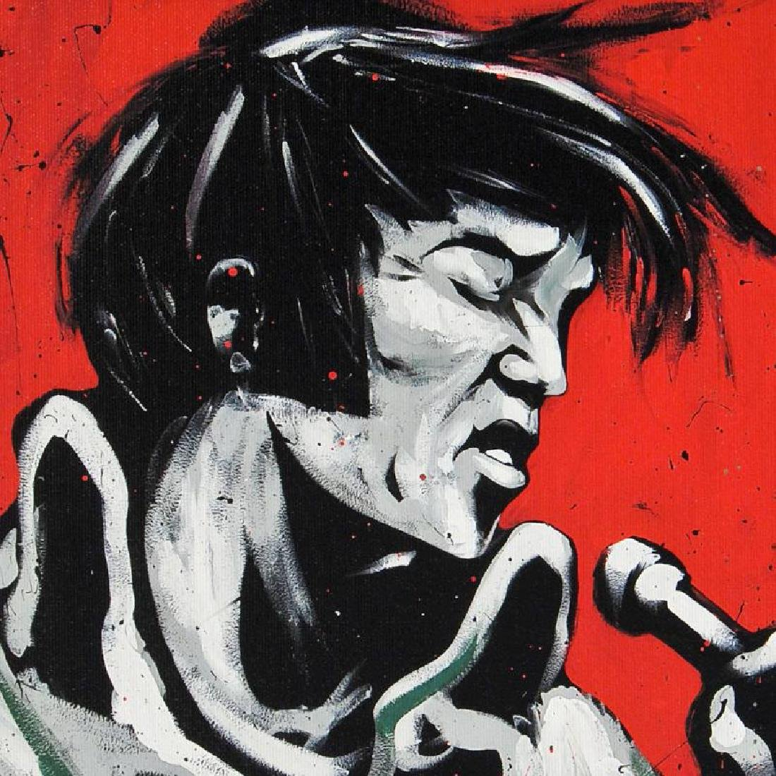 """Elvis Presley (Revolution)"" LIMITED EDITION Giclee on - 5"