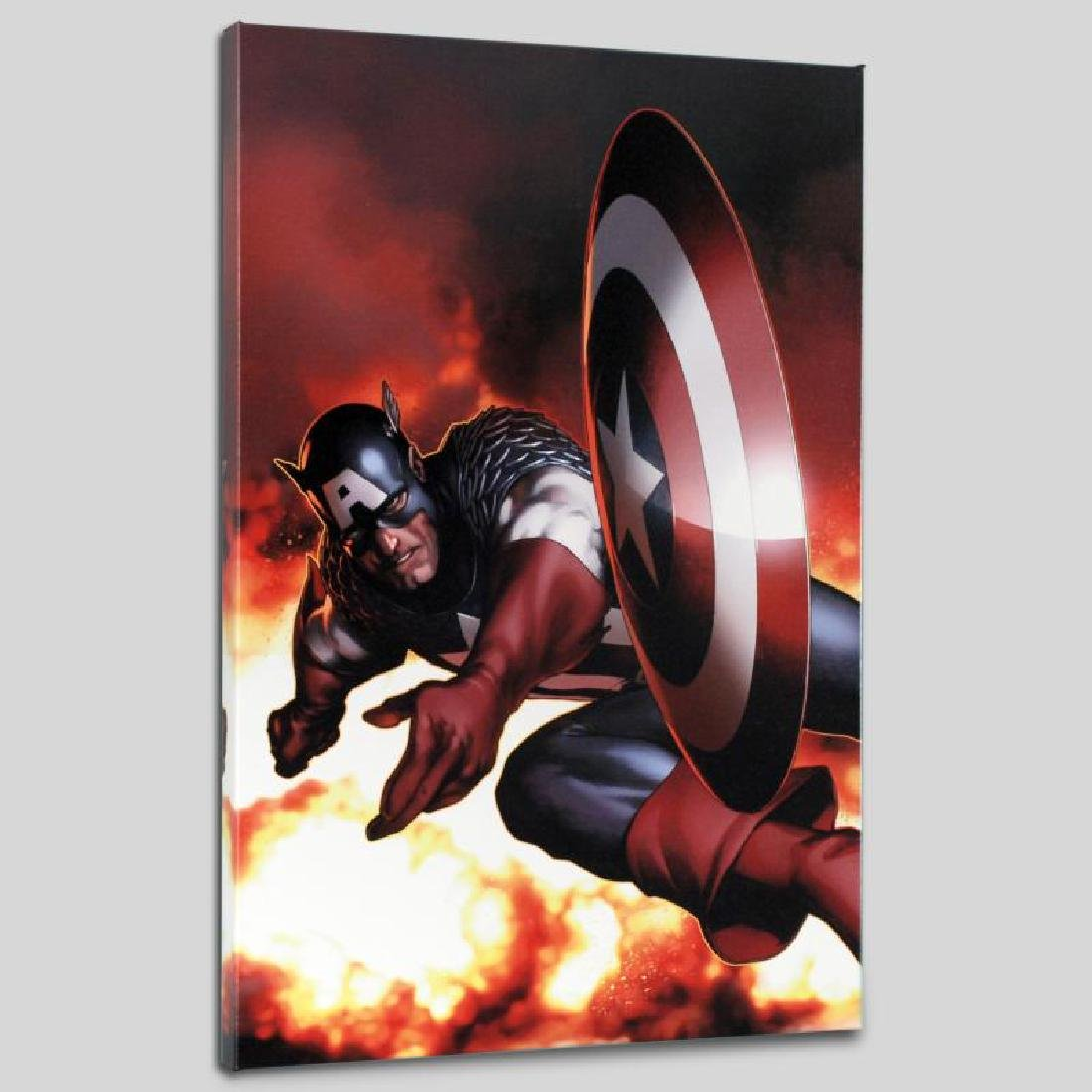 """Captain America #2"" Limited Edition Giclee on Canvas"