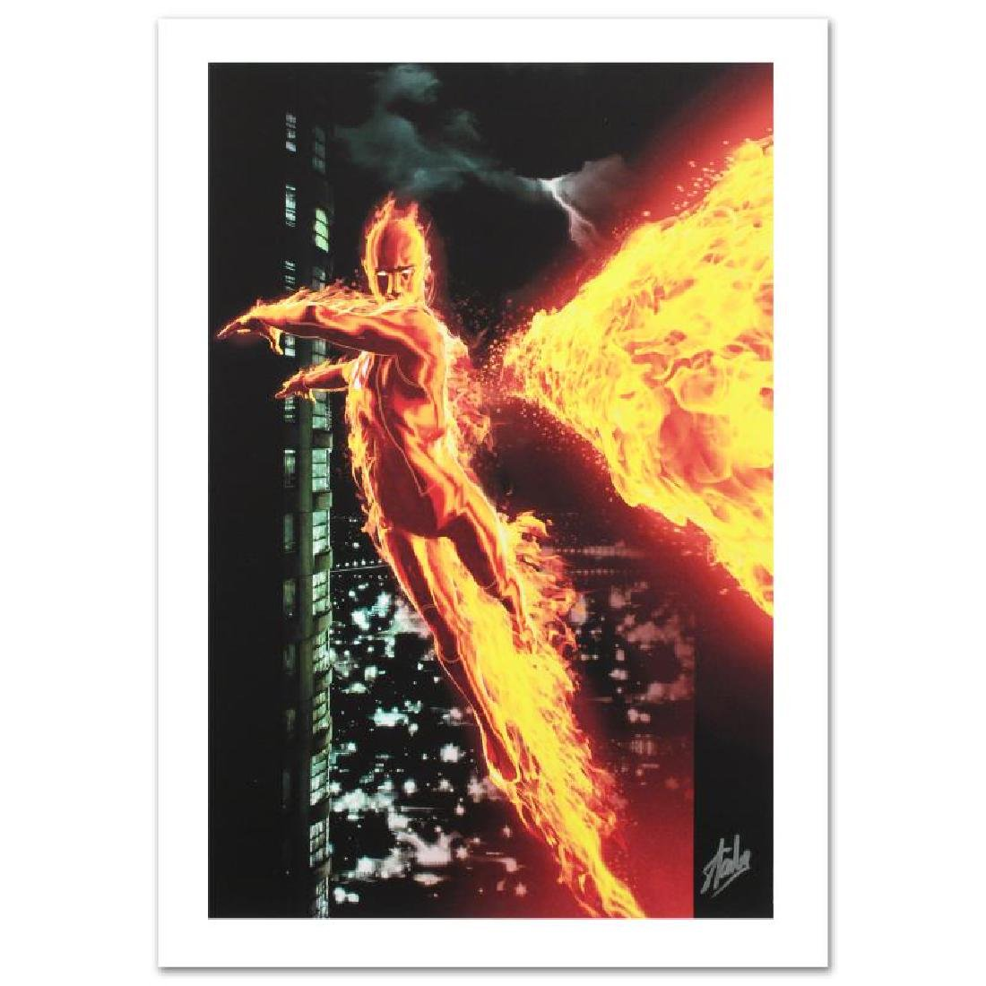 """""""Ultimate X-Men #2"""" Limited Edition Giclee on Canvas by - 3"""