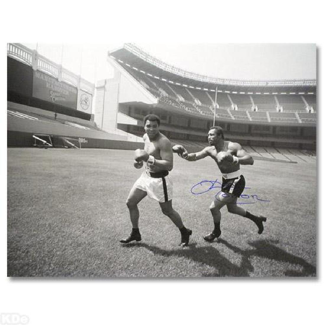 """Must-Have Signed Sports Photo! """"Ken Norton and Ali"""