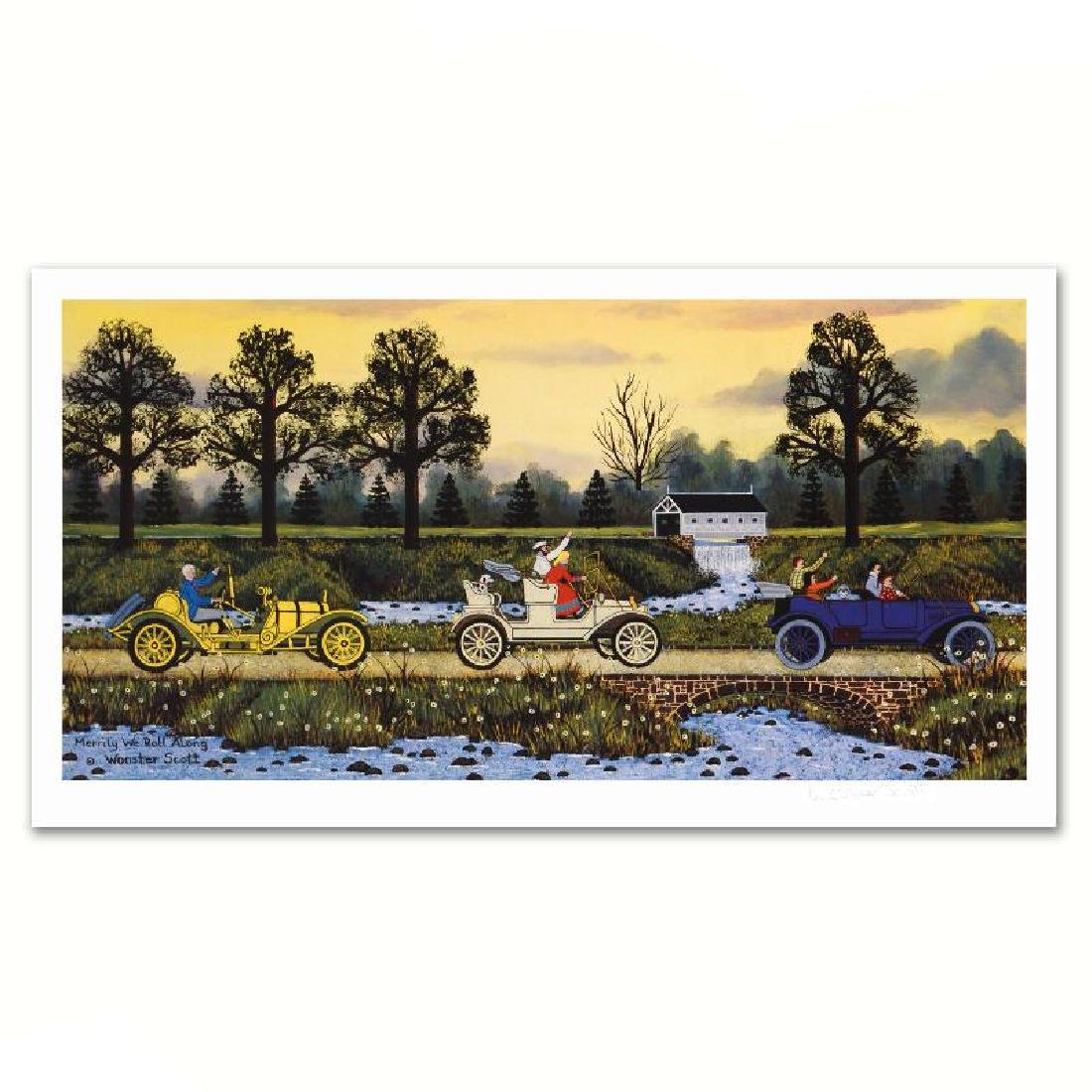 Merrily We Roll Along Limited Edition Lithograph by