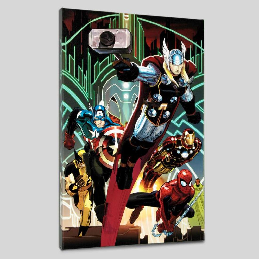 """Avengers #5"" LIMITED EDITION Giclee on Canvas by John"