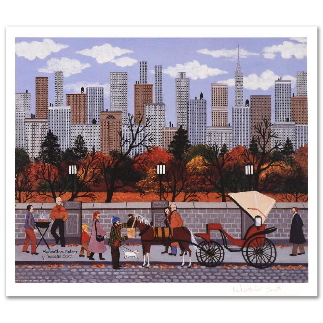 Manhattan Colors Limited Edition Lithograph by Jane