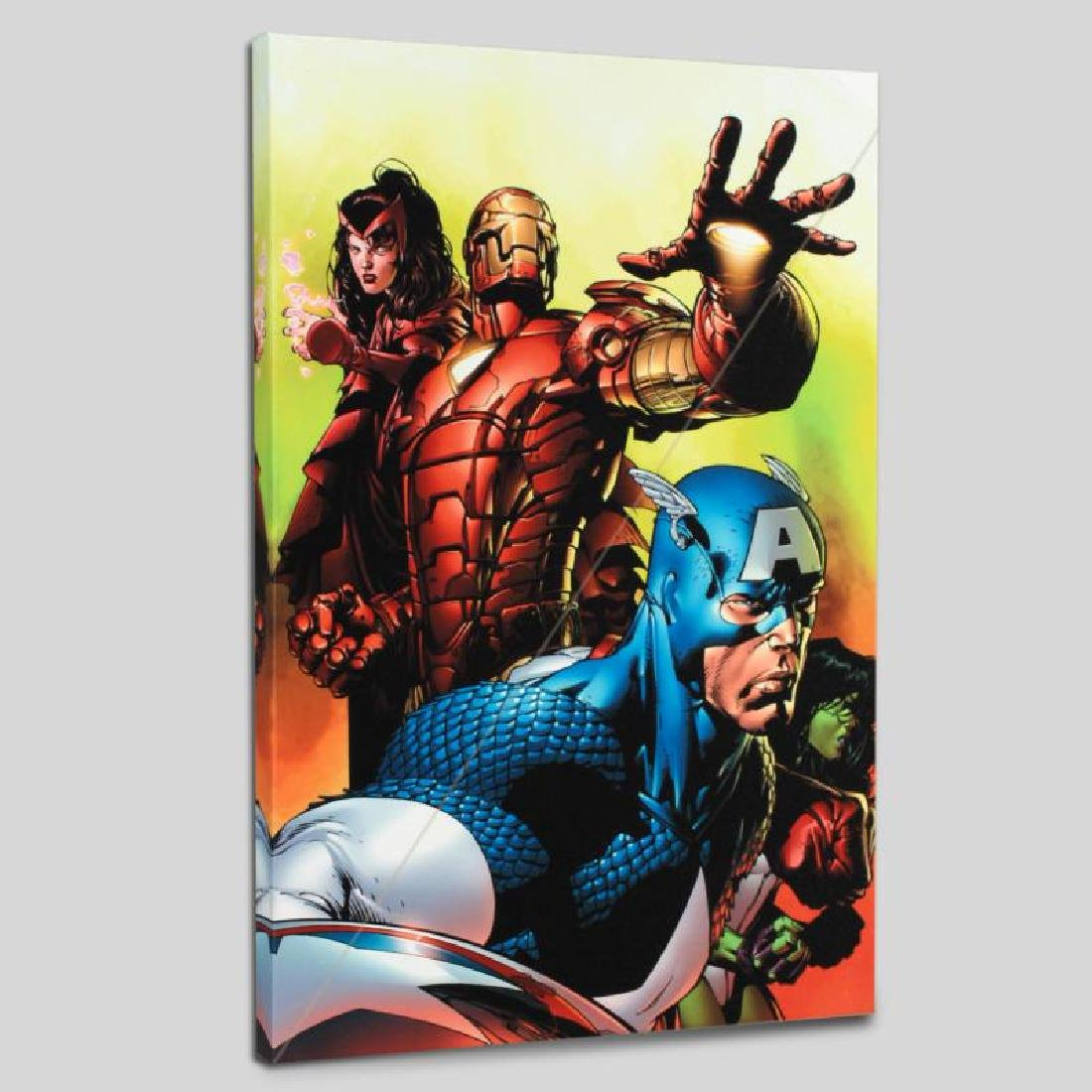 """Avengers #501"" LIMITED EDITION Giclee on Canvas by"