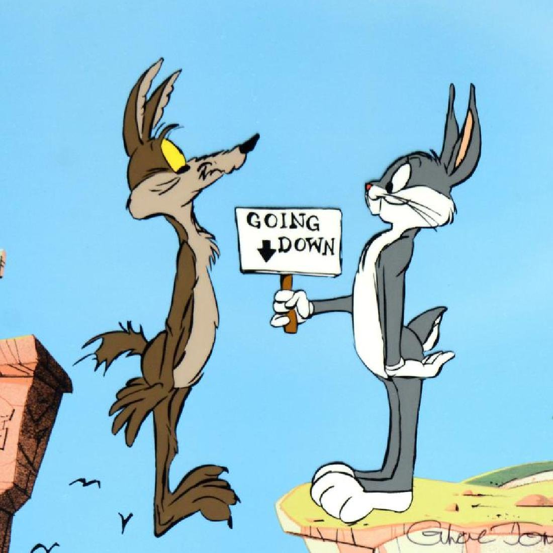 """Chuck Jones (1912-2002) - """"Coyote Crossing"""" SOLD OUT - 4"""