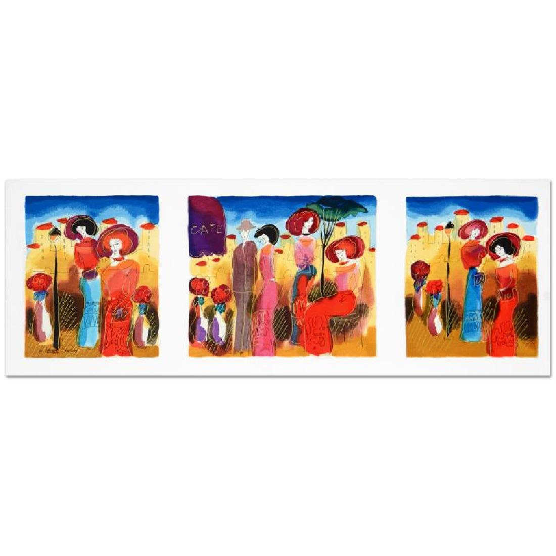 Sunny Afternoon Limited Edition Serigraph by Moshe