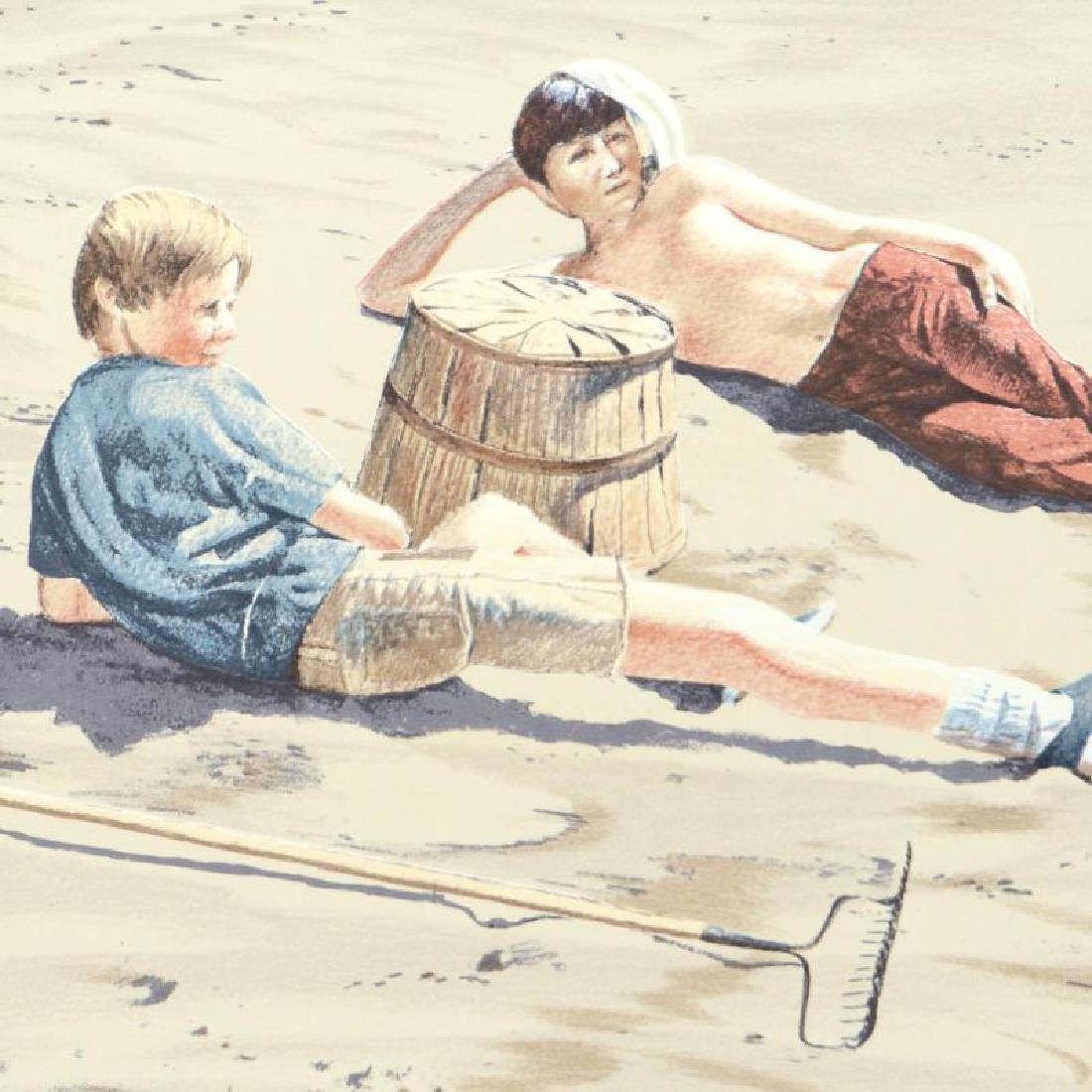 """William Nelson - """"The Beach Combers"""" Limited Edition - 4"""