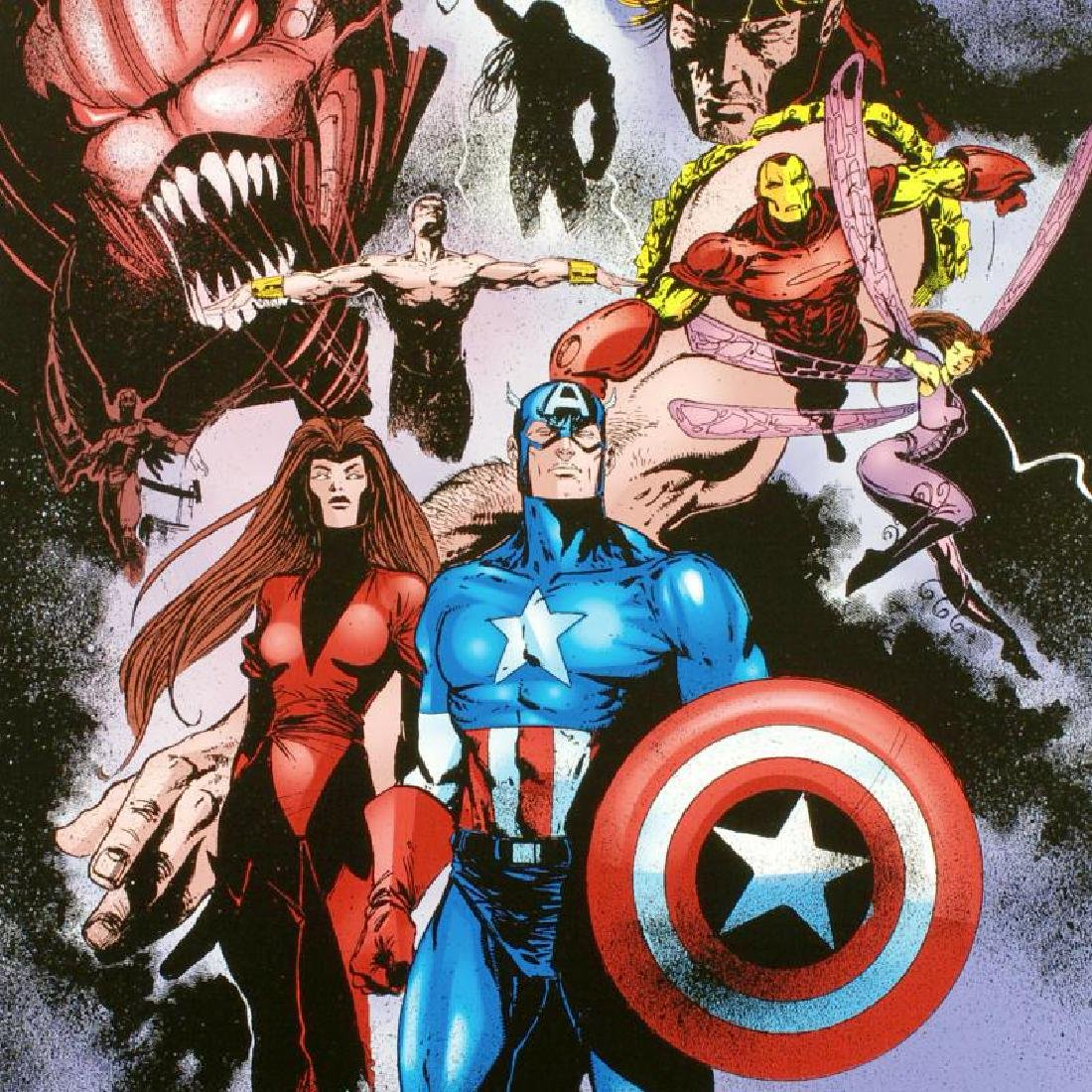"""Avengers #99 Annual"" Limited Edition Giclee on Canvas - 2"