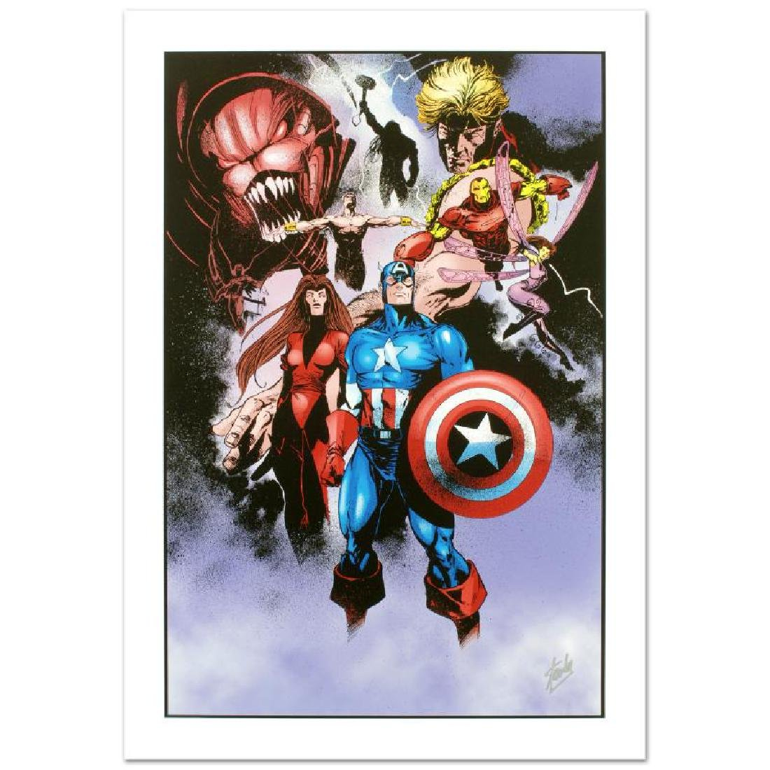 """Avengers #99 Annual"" Limited Edition Giclee on Canvas - 3"