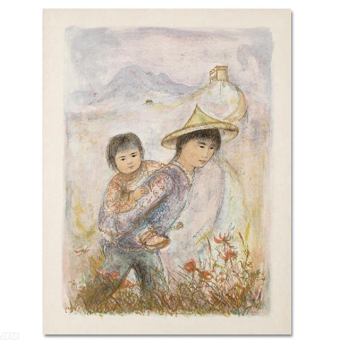 """""""The Great Wall"""" Limited Edition Lithograph by Edna - 3"""