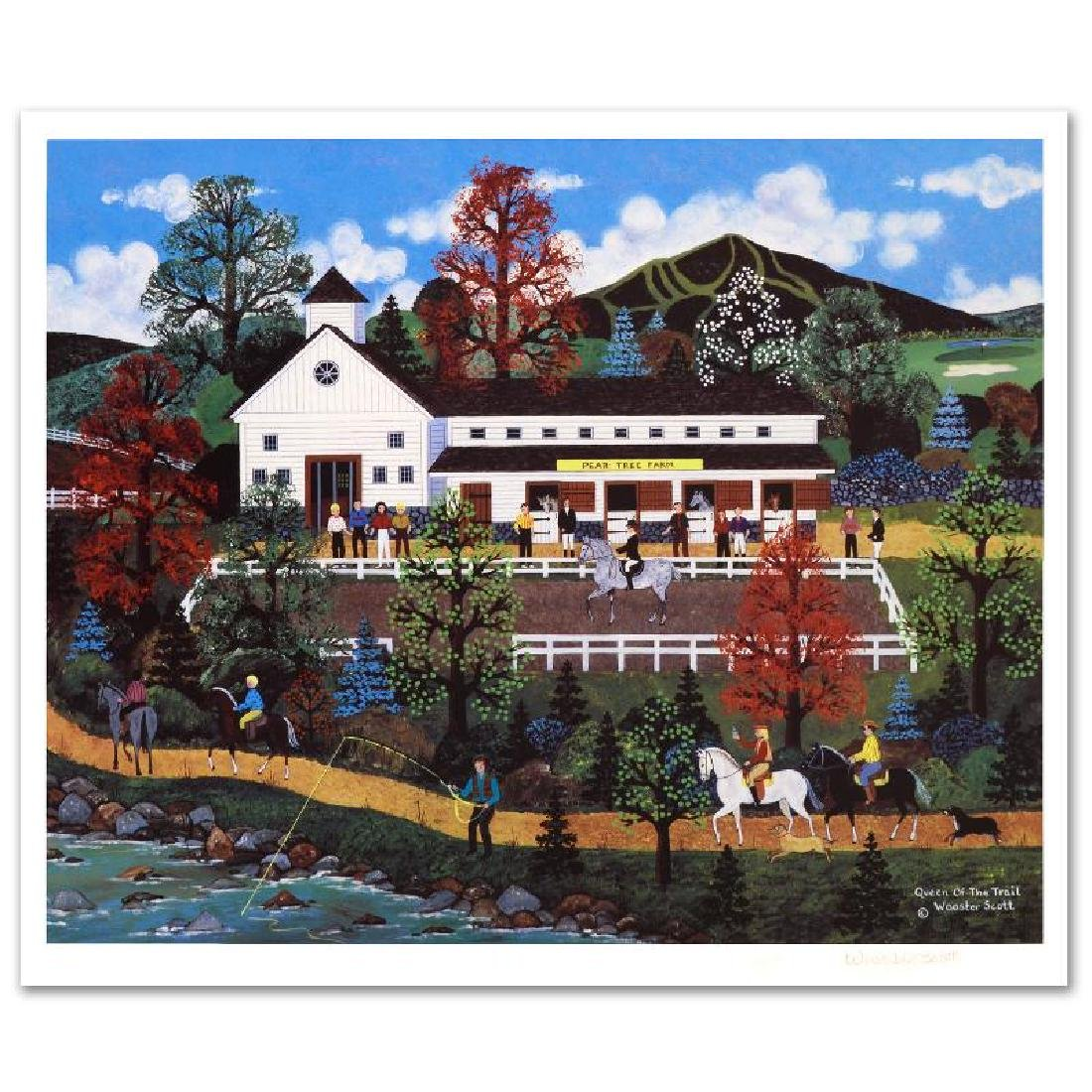 Queen of the Trail Limited Edition Lithograph by Jane