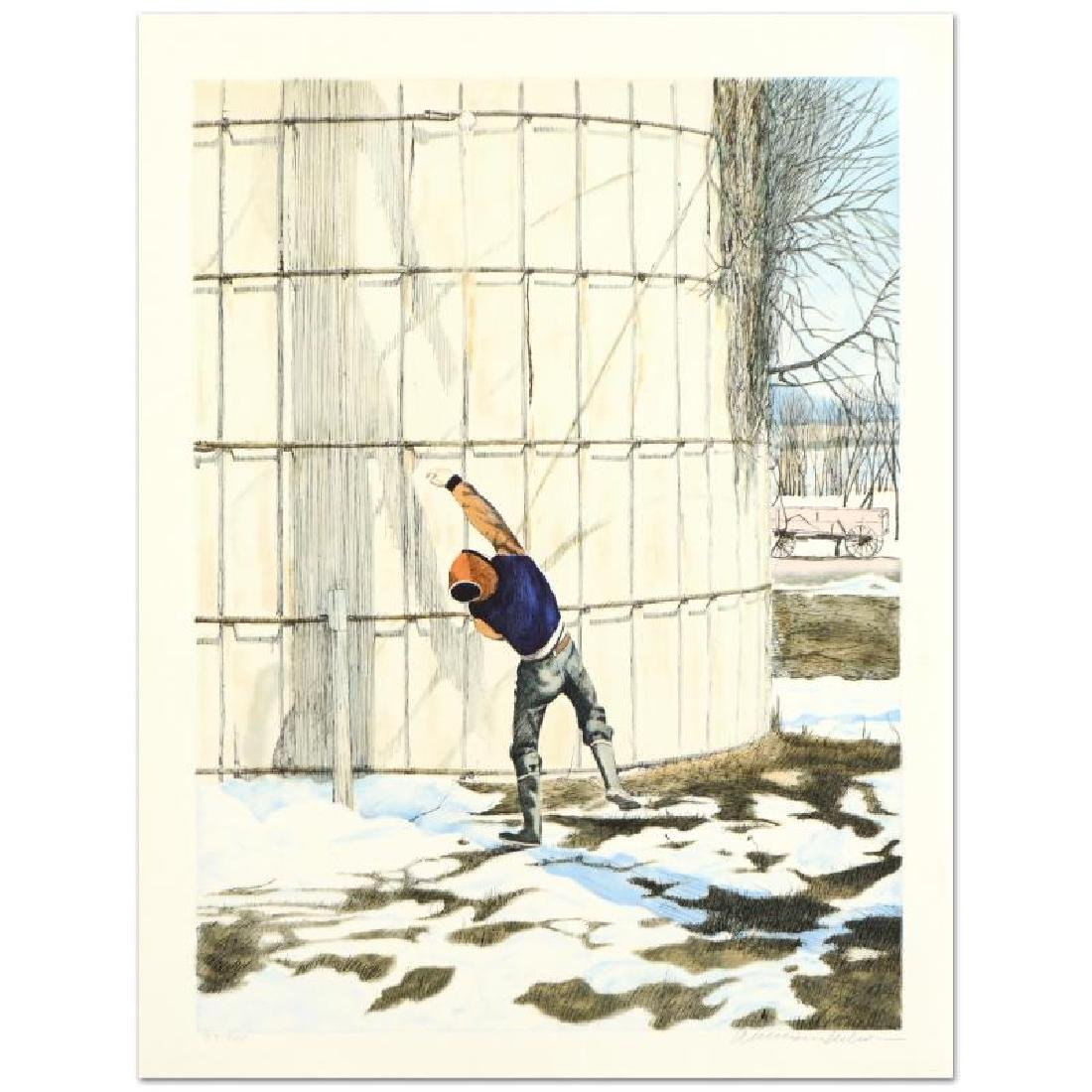 "William Nelson - ""The Snowball Thrower"" Limited Edition"