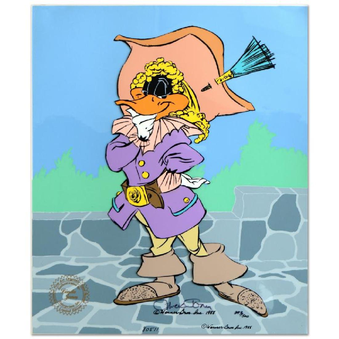 "Chuck Jones (1912-2002) - ""Daffy Cavalier"" SOLD OUT - 3"