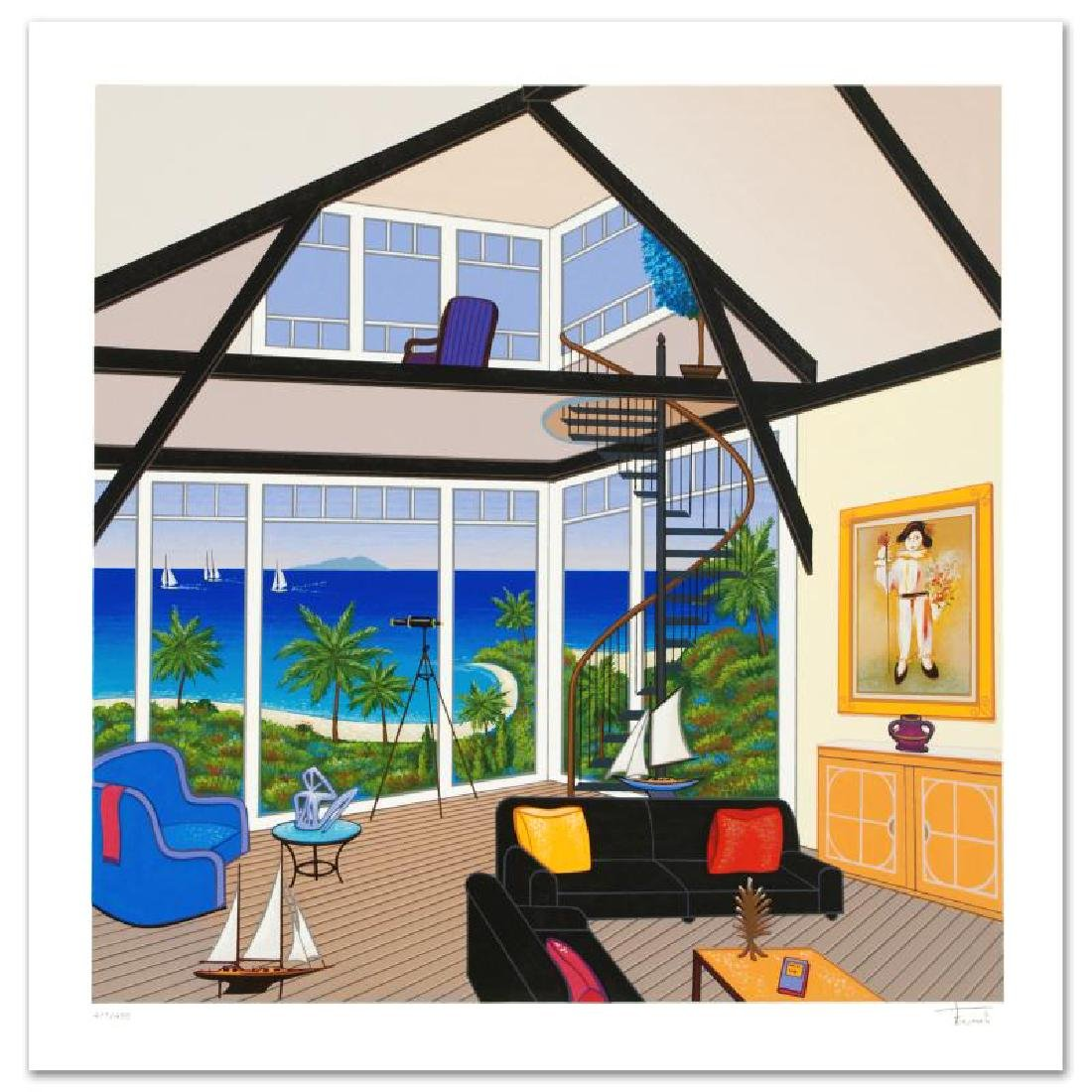 Duplex Over Stinson Limited Edition Serigraph by Fanch