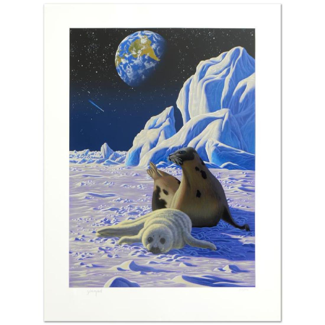 The End of Innocence Limited Edition Serigraph by