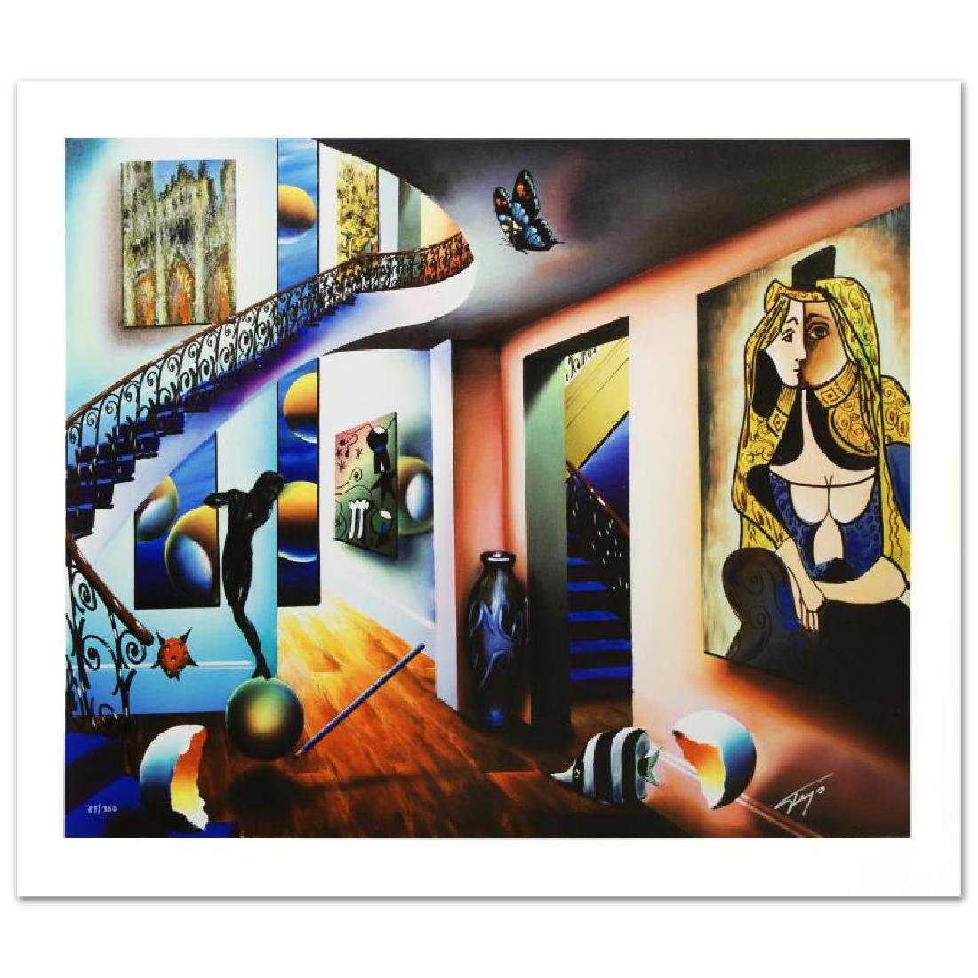 """Passageway to the Masters"" Limited Edition Giclee on"