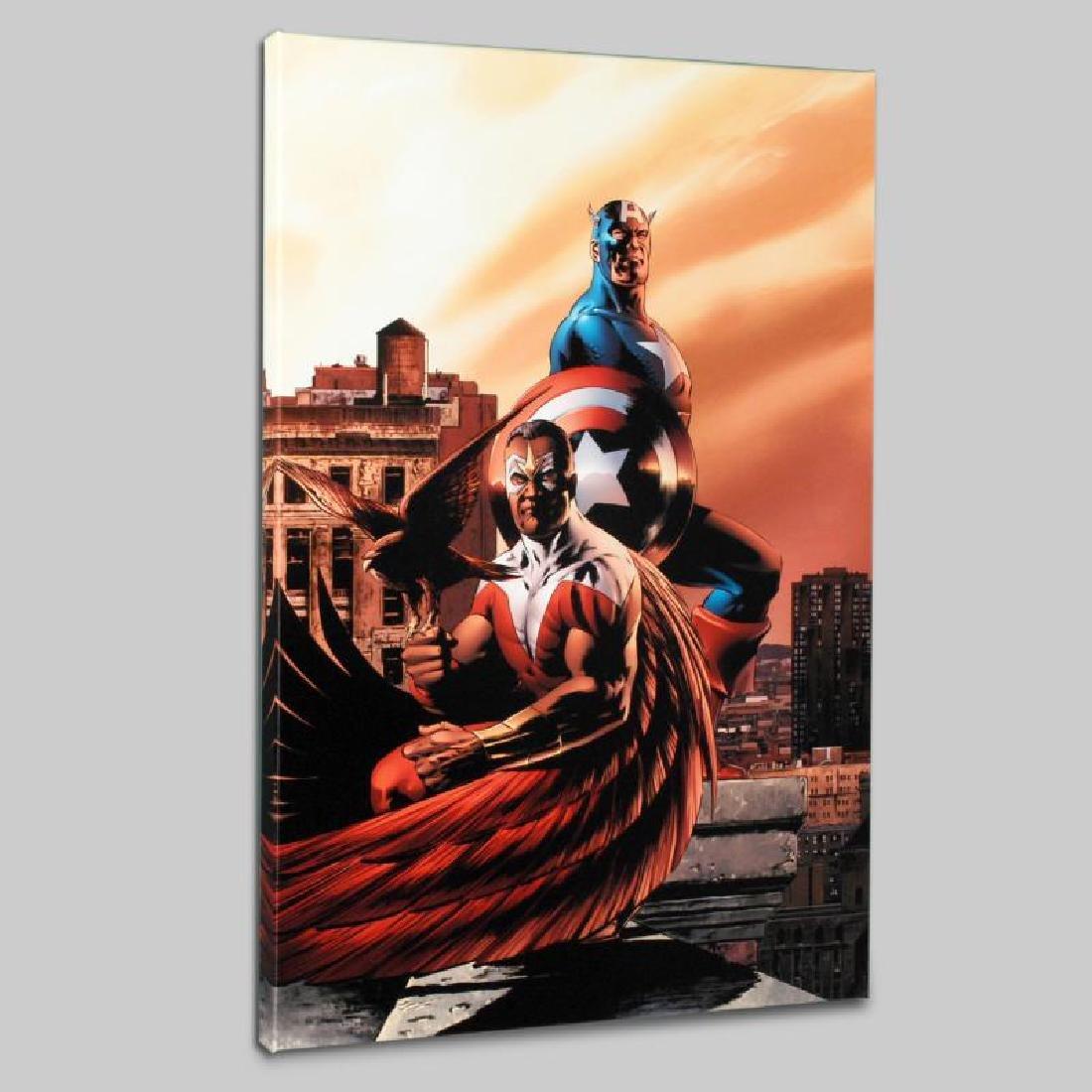 """Captain America & The Falcon #5"" Limited Edition"