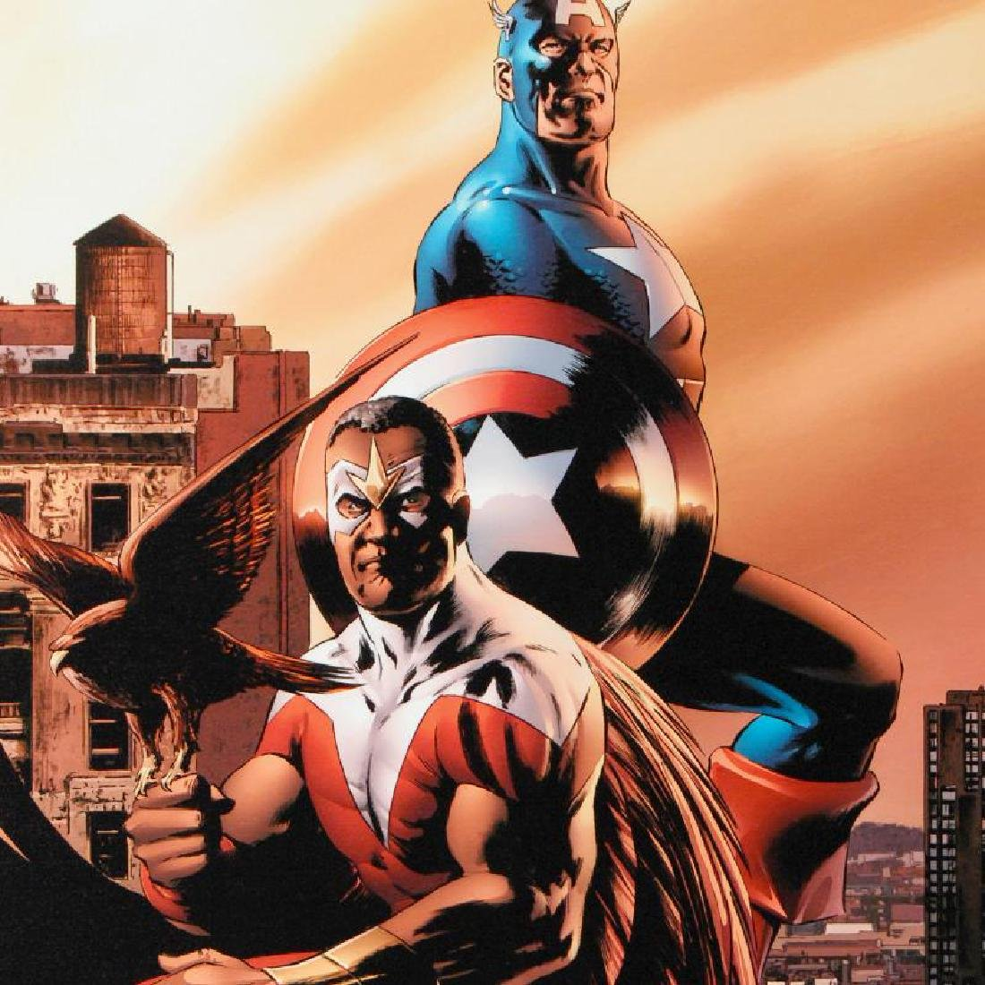 """Captain America & The Falcon #5"" Limited Edition - 4"
