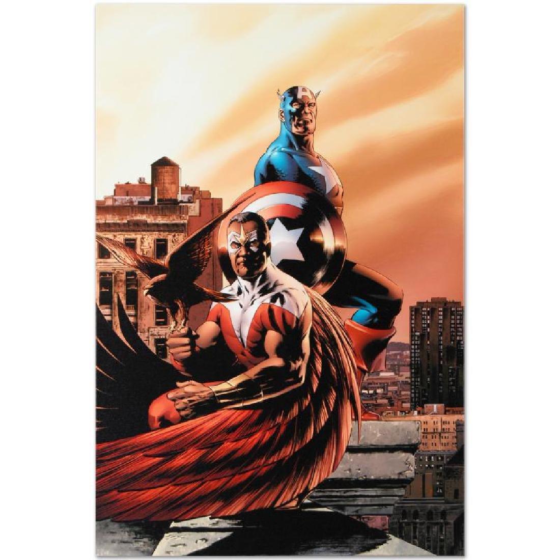 """Captain America & The Falcon #5"" Limited Edition - 6"