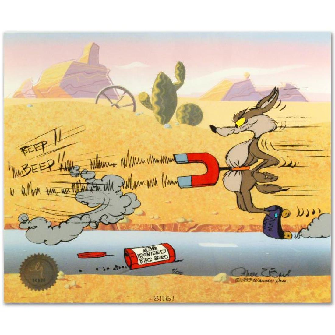 """""""Road Runner and Coyote: Acme Birdseed"""" Limited Edition - 4"""