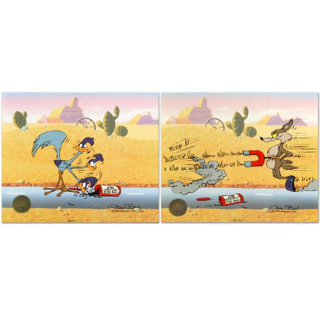 """""""Road Runner and Coyote: Acme Birdseed"""" Limited Edition - 5"""