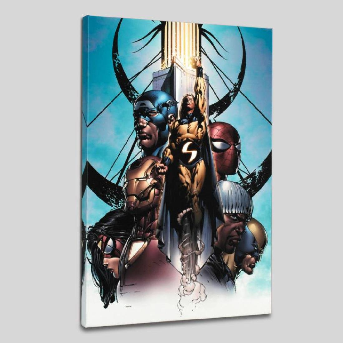 """New Avengers #10"" Limited Edition Giclee on Canvas by"