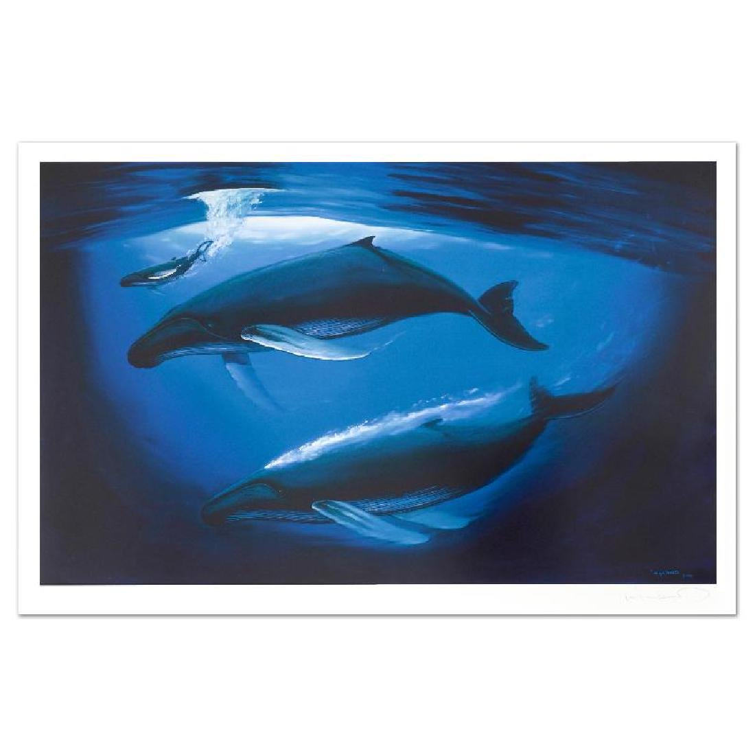 A Sea of Life Limited Edition Lithograph by Renowned - 4