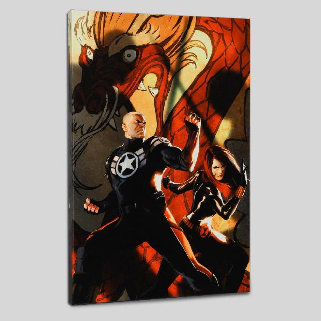 """Secret Avengers #6"" LIMITED EDITION Giclee on Canvas"