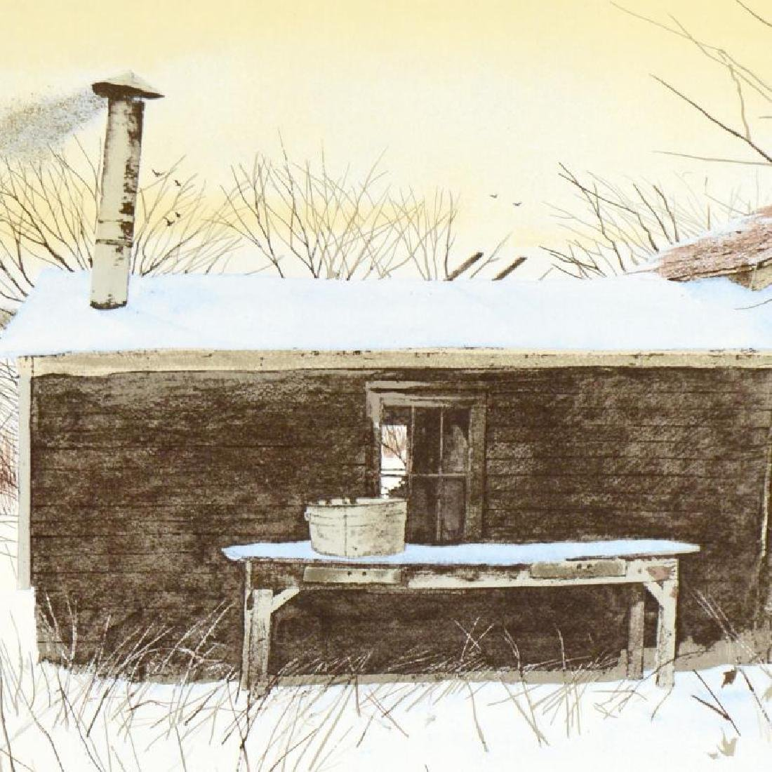 """William Nelson - """"Hunter's Shack"""" Limited Edition - 4"""