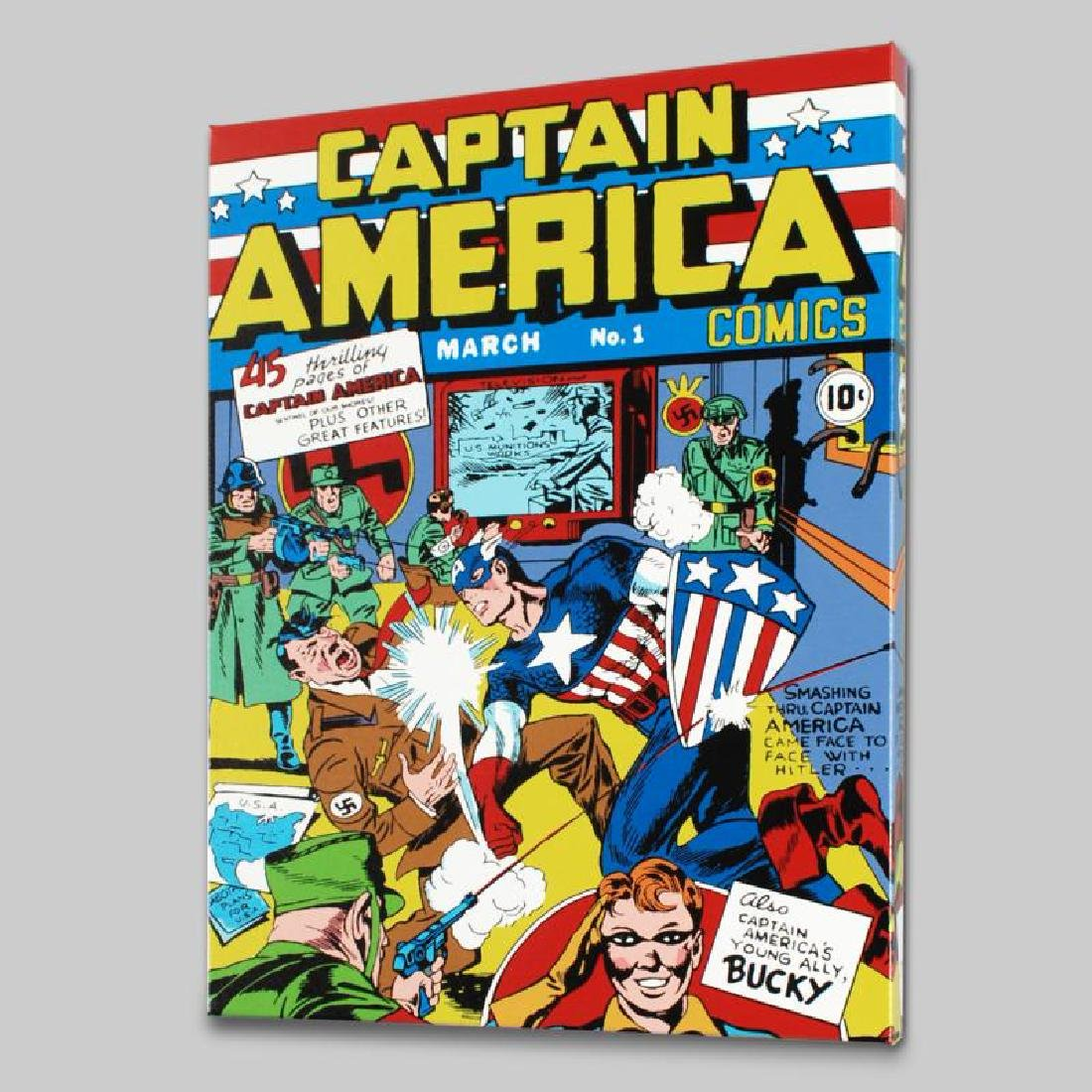 """Captain America Comics #1"" LIMITED EDITION Giclee on - 3"