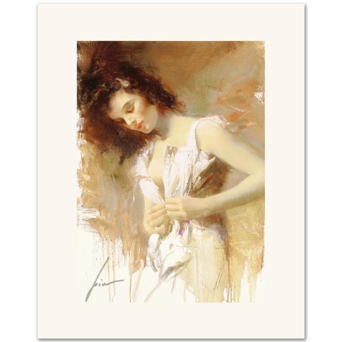 White Camisole Limited Edition Giclee on Canvas by Pino