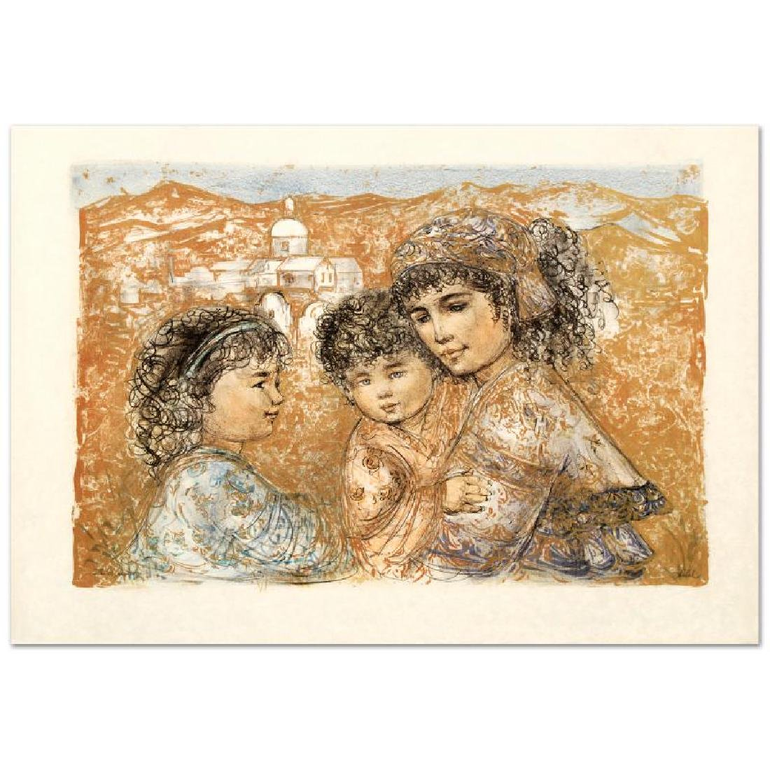 """Zalina with Aries and Ande"" Limited Edition Lithograph"