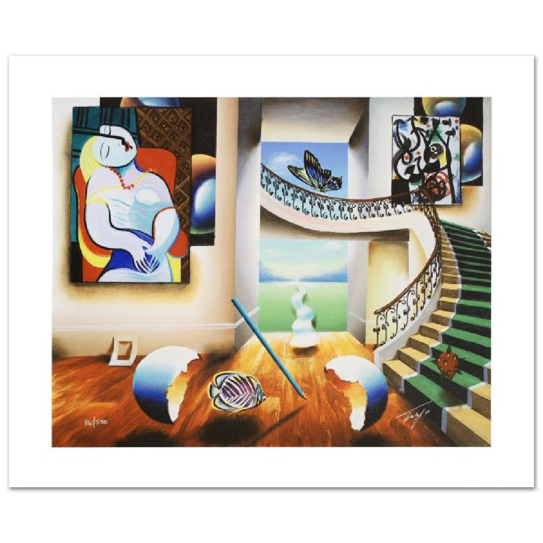 """""""Dreaming"""" Limited Edition Giclee on Canvas by Ferjo"""