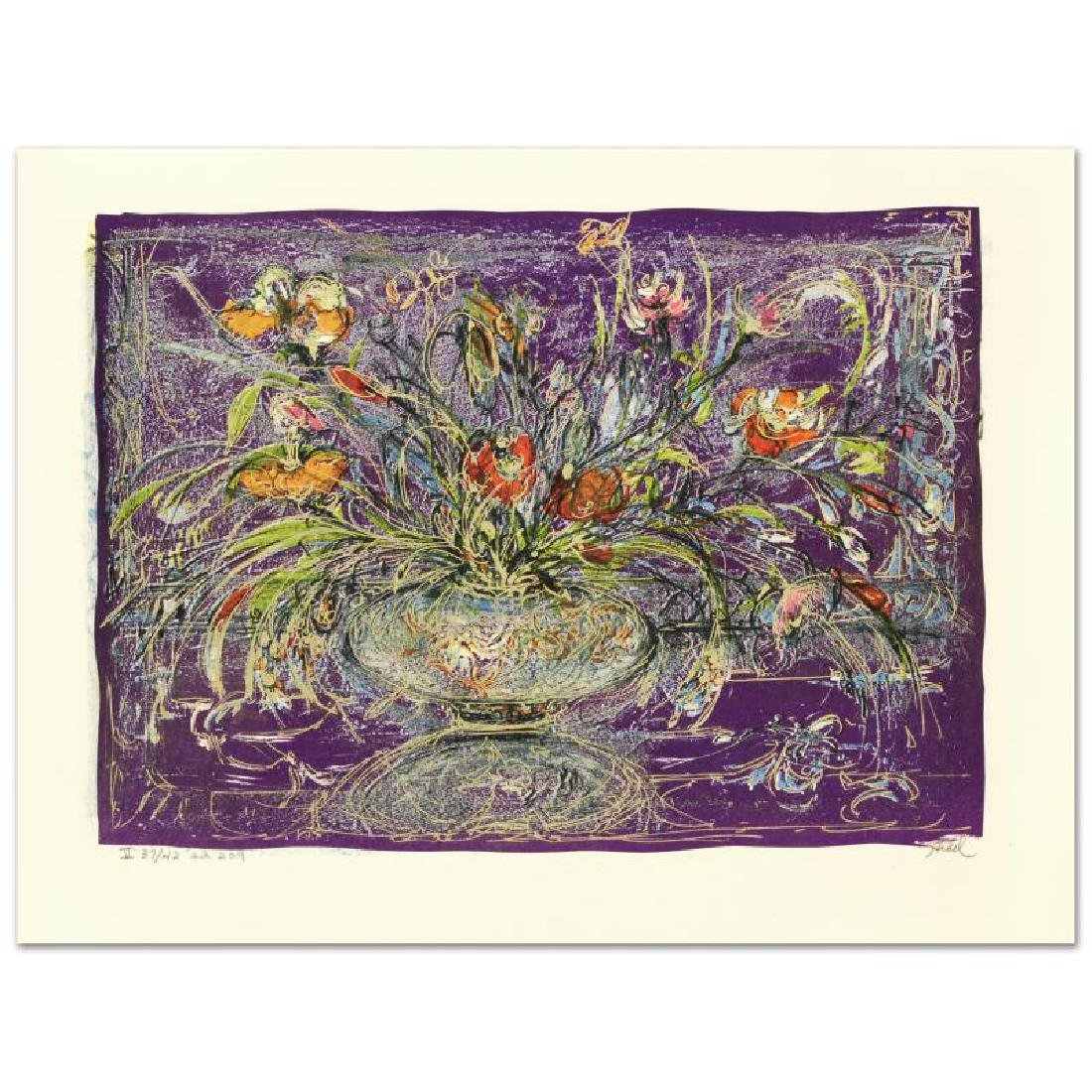 """""""Floral Mystic"""" Limited Edition Lithograph by Edna"""