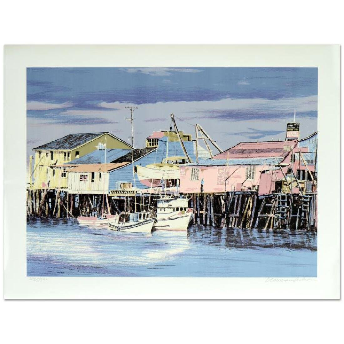 "William Nelson - ""Monterey Wharf"" Limited Edition"