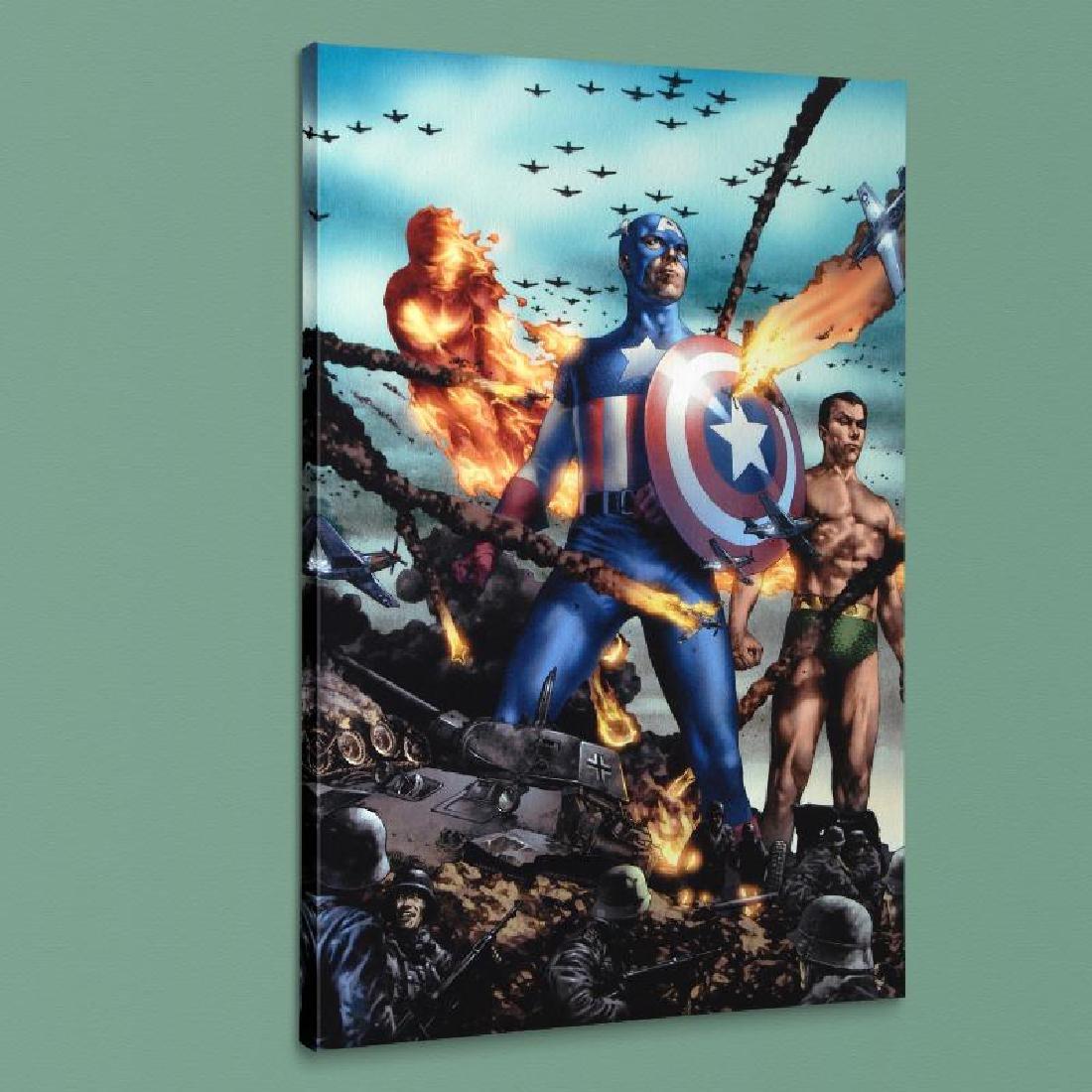 """""""Giant-Size Invaders #2"""" LIMITED EDITION Giclee on"""