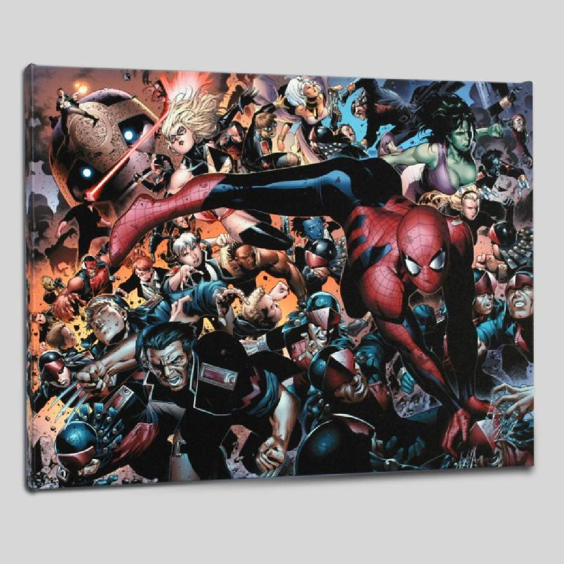 """New Avengers #45"" LIMITED EDITION Giclee on Canvas by"