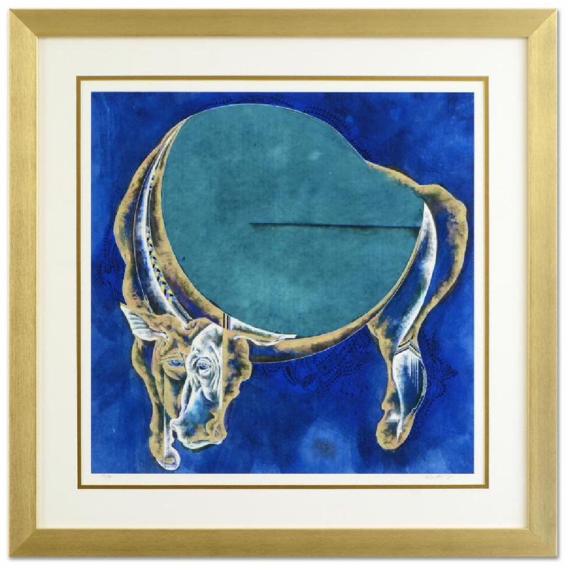"Lu Hong - ""Taurus (4/21 - 5/21)"" Framed Limited Edition"