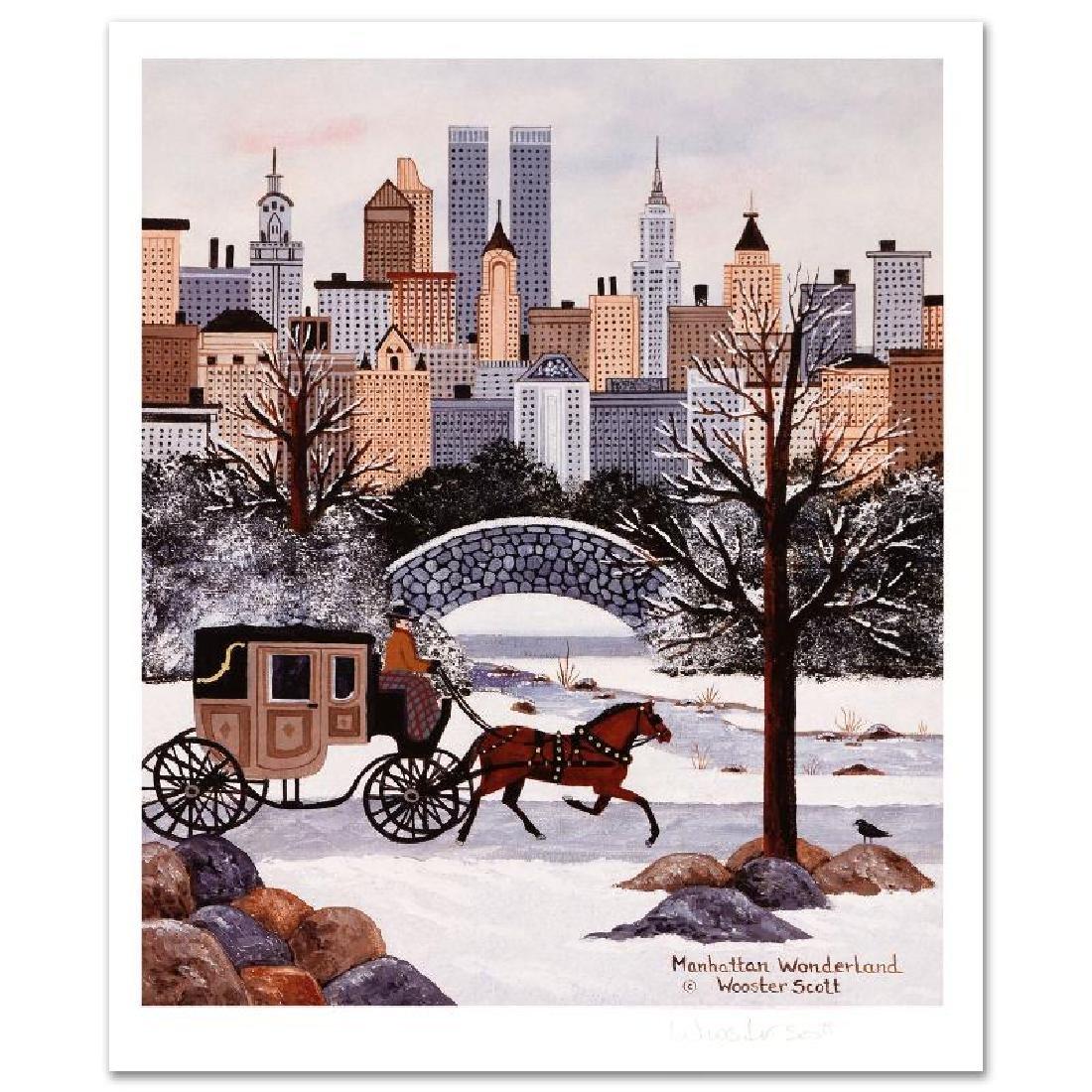 Manhattan Wonderland Limited Edition Lithograph by Jane - 2