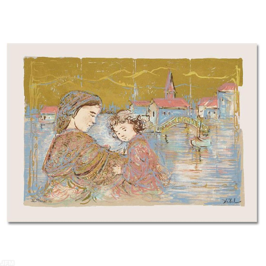 """""""Bridge of Life"""" Limited Edition Lithograph by Edna"""