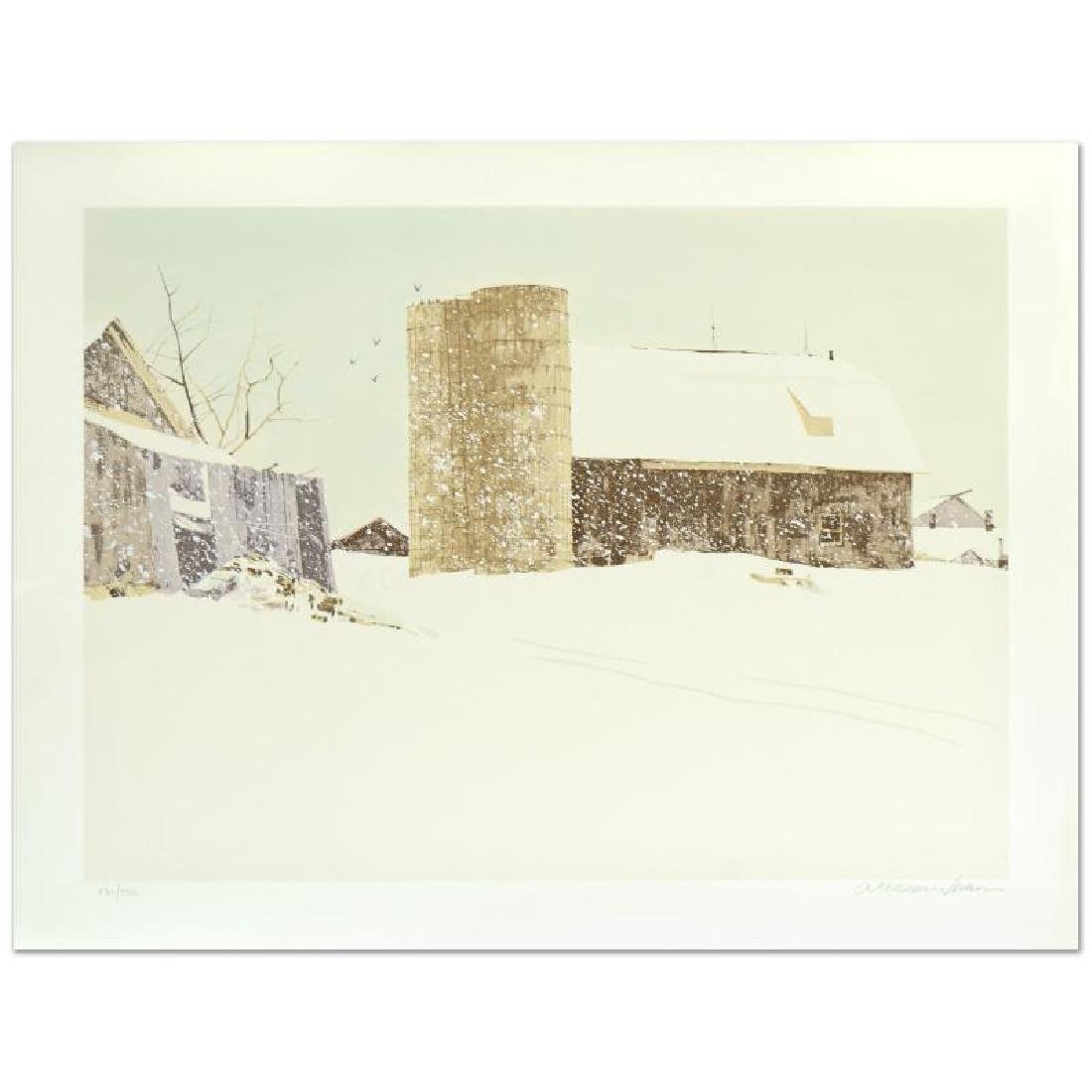 "William Nelson - ""Blizzard"" Limited Edition Serigraph"