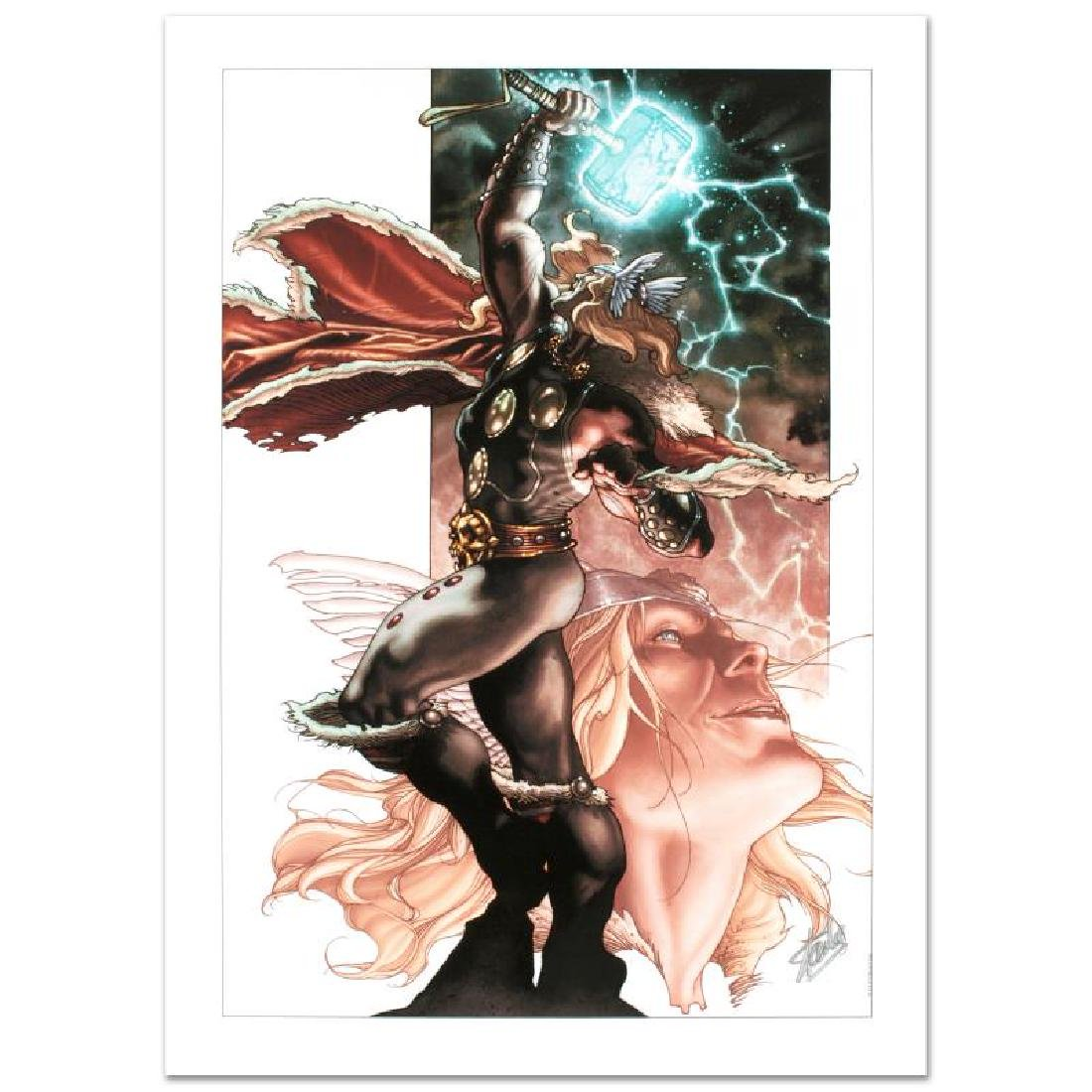 """Thor: For Asgard #3"" Limited Edition Giclee on Canvas"