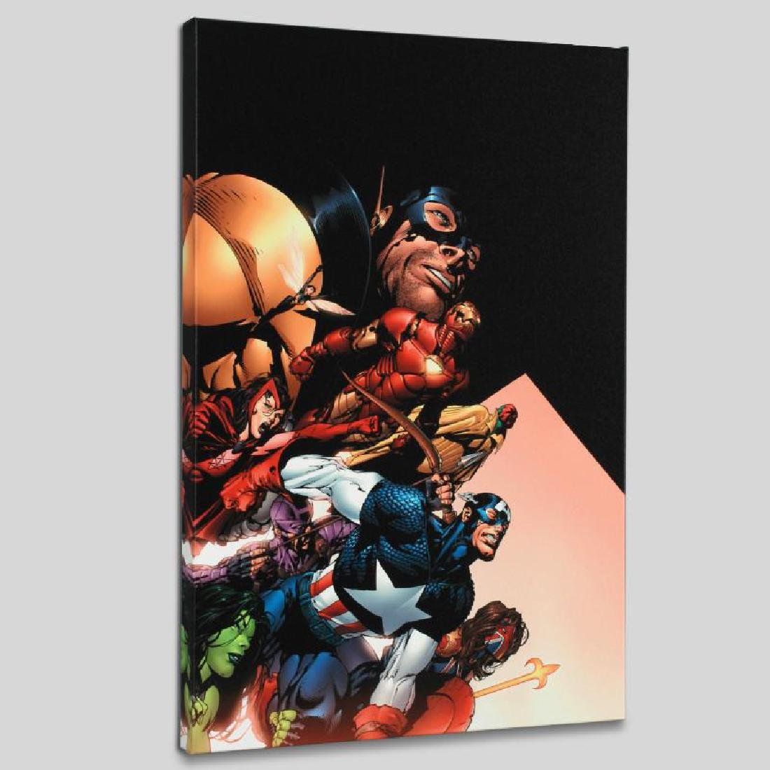 """Avengers #500"" LIMITED EDITION Giclee on Canvas by"
