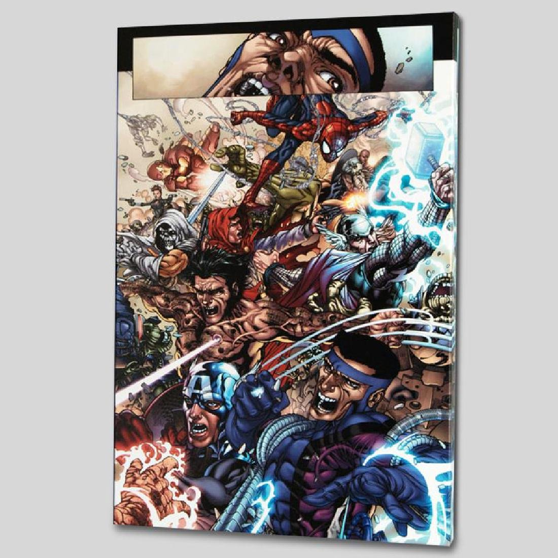 """Avengers: The Initiative #19"" LIMITED EDITION Giclee - 4"