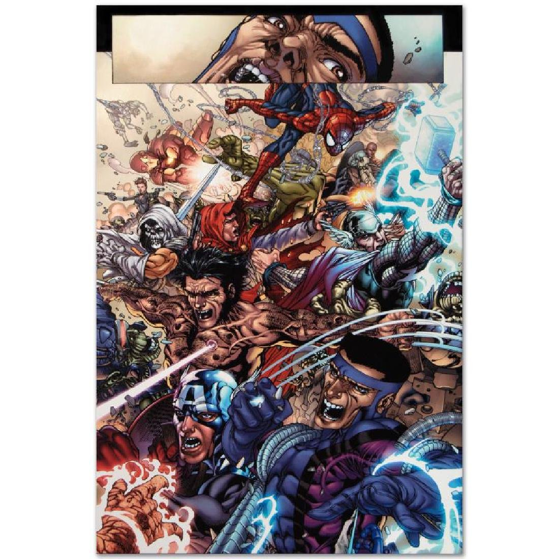 """Avengers: The Initiative #19"" LIMITED EDITION Giclee - 5"