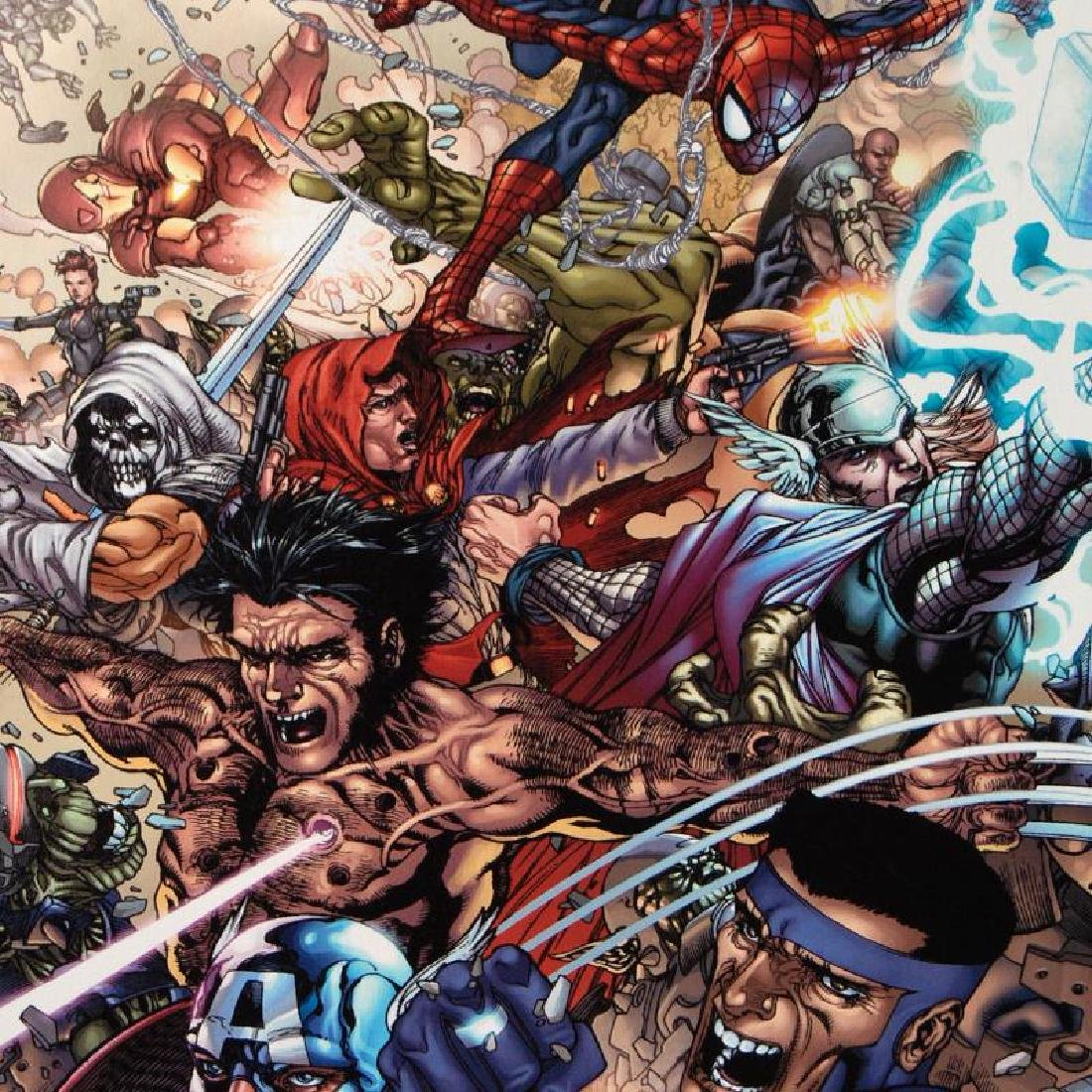 """Avengers: The Initiative #19"" LIMITED EDITION Giclee - 6"
