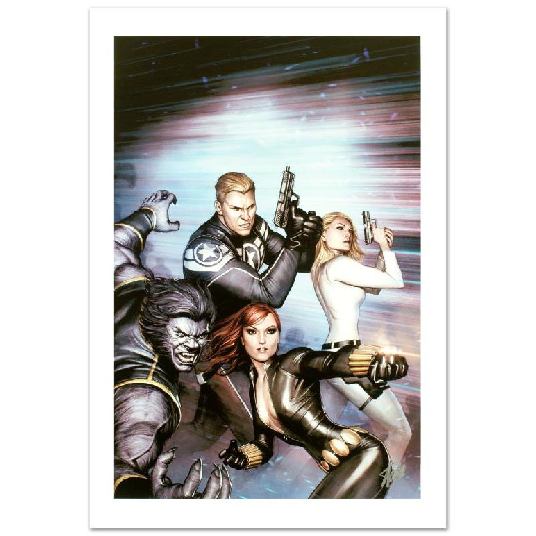 """Secret Avengers #13"" Limited Edition Giclee on Canvas"