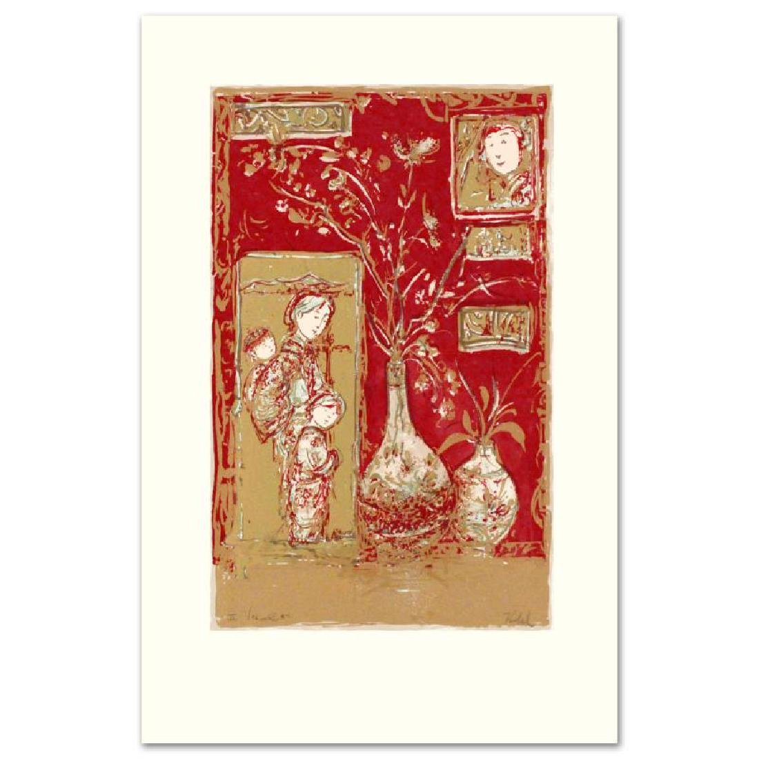"""Oriental Delight"" Limited Edition Serigraph by Edna - 2"